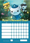 Personalised Octonauts Reward Chart (adding photo option available)